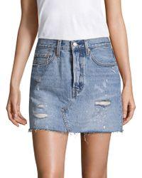 Levi's | Denim Mini Skirt | Lyst