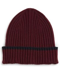 Saks Fifth Avenue - Collection Tipping Modern Beanie - Lyst