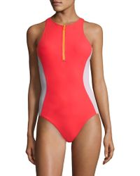 Flagpole Swim - One-piece Stella Swimsuit - Lyst