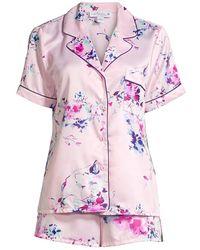 In Bloom Huntington 2-piece Short Pajama Set - Pink