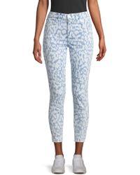 Current/Elliott The High Waist Stiletto Jeans - Blue