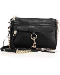 Rebecca Minkoff - Mini Mac Leather Crossbody Bag - Lyst