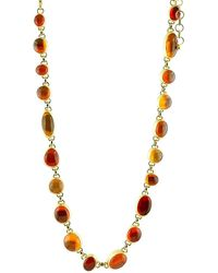 Gurhan One Of A Kind 24k Yellow Gold, 22k & Mexican Opal Necklace - Metallic