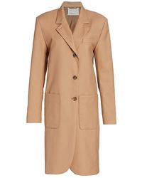 3.1 Phillip Lim Serge Wool-blend Blazer Coat - Multicolor