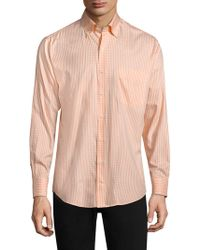 Peter Millar - Crown Gingham Button-down Shirt - Lyst