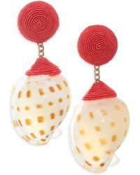 Rebecca de Ravenel - Ophelia Shell Earrings - Lyst