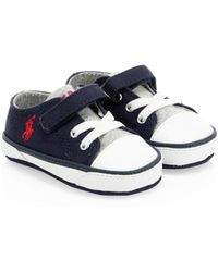 Ralph Lauren - Baby's Canvas Logo Sneakers - Lyst