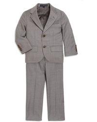 Ralph Lauren - Little Boy's Two-piece Wool Twill Suit - Lyst