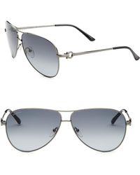 Ferragamo - Aviator Sunglasses - Lyst