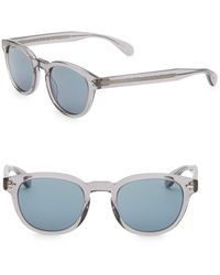 Oliver Peoples Rs20 Sheldrake 49mm Phantos Sunglasses - Gray