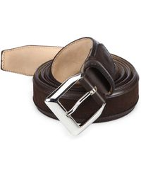 Sutor Mantellassi - Truman Veloucal Leather & Suede Belt - Lyst