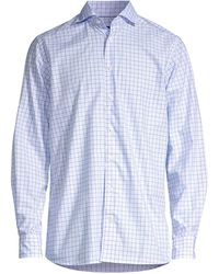 Eton of Sweden - Contemporary-fit Check Dress Shirt - Lyst