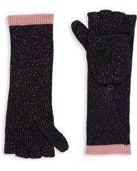 Rag & Bone - Jubilee Merino Wool Fingerless Gloves - Lyst