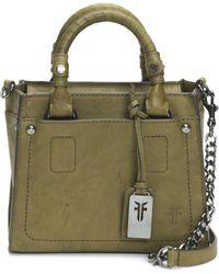 Frye - Demi Mini Leather Satchel Handbag - Lyst