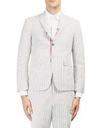 Thom Browne - Pinstriped Cotton Sportcoat - Lyst