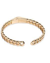DEMARSON Stella 12kplated Curb Chain Cuff - Metallic
