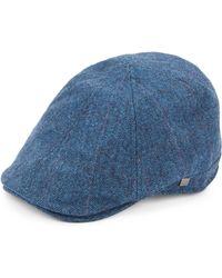 Block Headwear - Six-panel Herringbone Newsboy Cap - Lyst