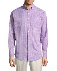 Peter Millar - Barber Plaid Button-down Shirt - Lyst