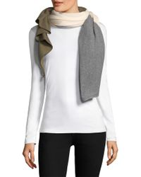 Donni Charm - Thermal Quad Colorblock Scarf - Lyst