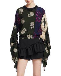 3.1 Phillip Lim - Patchwork Floral Blouse - Lyst