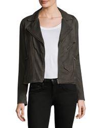 June - Vintage Leather Jacket - Lyst
