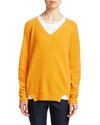 Cinq À Sept - Neely Cashmere Knit Sweater - Lyst