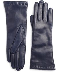 Saks Fifth Avenue | Cashmere-lined Leather Gloves | Lyst