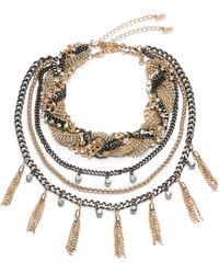 ABS By Allen Schwartz - Change Of Heart 3-in-1 Necklace - Lyst