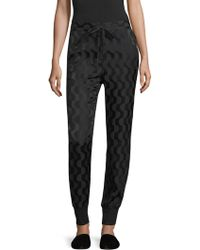 St. John - Charmeuse Fashion-fit Trousers - Lyst