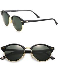 Ray-Ban - 51mm Round Clubmaster Sunglasses - Lyst