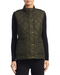 Burberry Quilted Military Jacket - Green