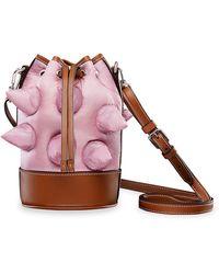 Moncler Genius 1 Moncler Jw Anderson Mini Spike Critter Bucket Bag - Pink