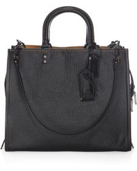 COACH - Rogue Leather Tote - Lyst