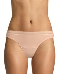 On Gossamer - Next To Nothing Micro Thong Panty - Lyst