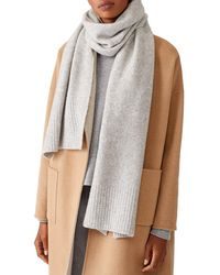 Eileen Fisher Wrap Cashmere-blend Scarf - Multicolor