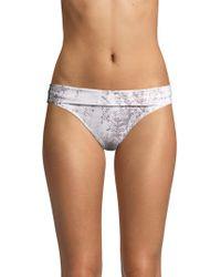 Heidi Klein - Core Fold-over Bikini Bottom - Lyst