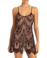 In Bloom - Cheetah Lace Chemise - Lyst