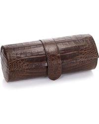 Santiago Gonzalez - Crocodile Watch Roll Case - Lyst