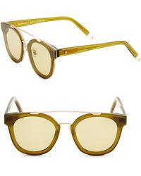dcec4c1aed4c Gentle Monster - Tilda Swinton X Newtonic 64mm Rounded Square Sunglasses -  Lyst