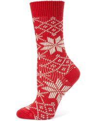 Ilux | Lumi Snowflake Socks | Lyst