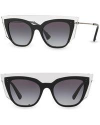 92bc0c9aee0 Lyst - Tom Ford Modern Cat s-eye Optical Glasses in Black