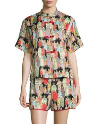 Natori - Dynasty Short Pyjama Set - Lyst