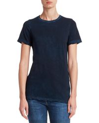 Cotton Citizen - The Classic Crew Distressed Tee - Lyst