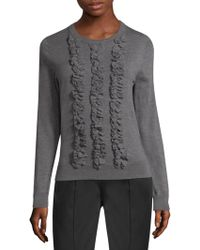 Marc Jacobs - Ruffled Sweater - Lyst