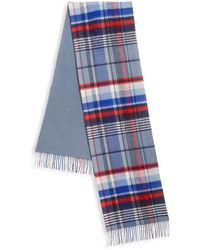 Saks Fifth Avenue - Collection Reversible Plaid Merino Wool & Cashmere Scarf - Lyst