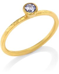 Gurhan - Delicate Hue Blue Sapphire Stacking Ring - Lyst