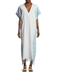 Koza - Riri Side Striped Caftan - Lyst