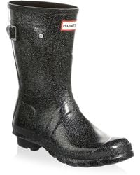 HUNTER - Original Starcloud Short Rain Boots - Lyst