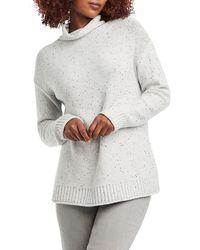 NIC+ZOE Cozy Sparkle Sweater - Gray