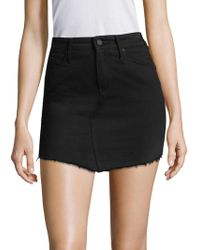 RTA | Simone Denim Mini Skirt | Lyst